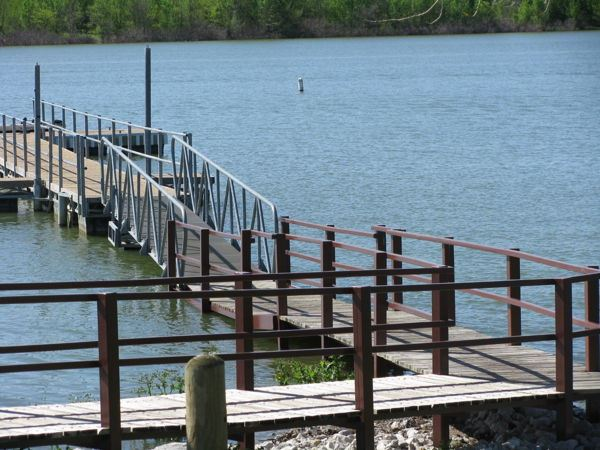 Courtesy Dock Extension at the Stewart Creek Park Boat Ramp