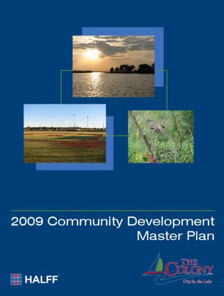Cover Page of Master Plan